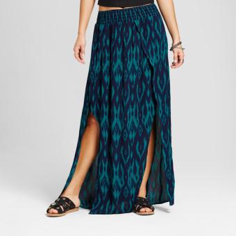 Suppar Sleave Women's Crepe Silk Skirts