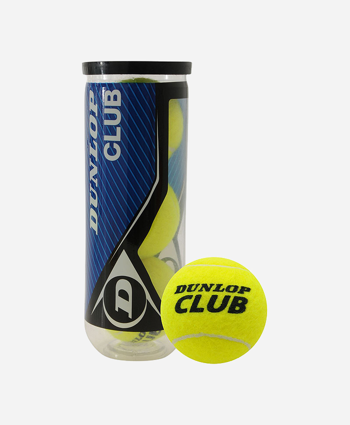 Dunlop Club AC Tennis Balls Tube